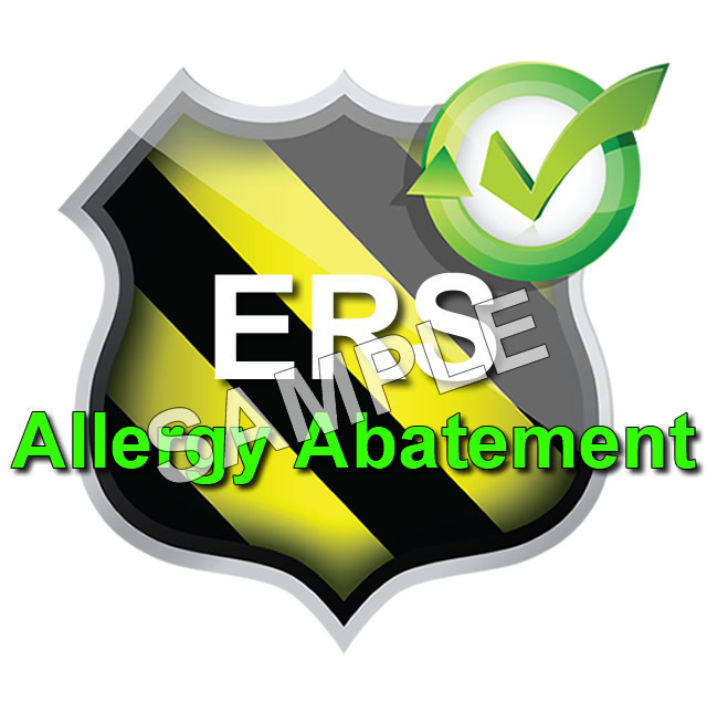Allergy Abatement Training