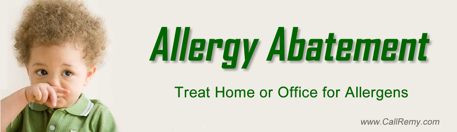 Allergy Relief with Allergy Abatement Program